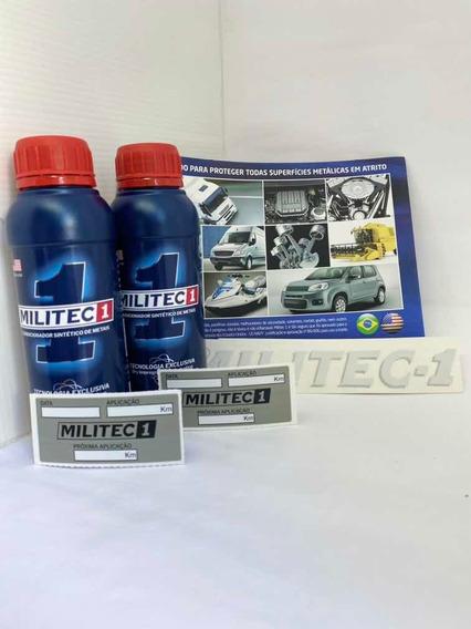 Militec-1 2 Unid. Original 200ml(folder, Adesivo E Etiqueta)