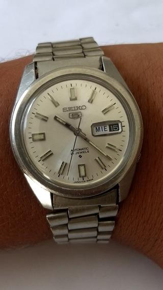 Relógio Seiko 6119-8083 Muito Bem Conservado