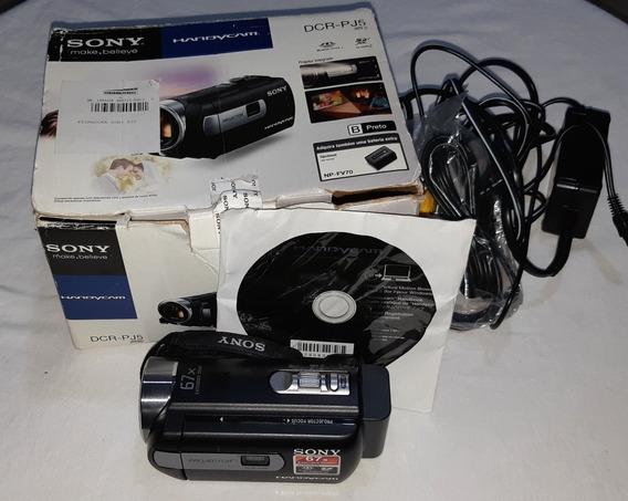 Filmadora Com Projetor Integrado Sony Dcr-pj5, Filme, Filmag