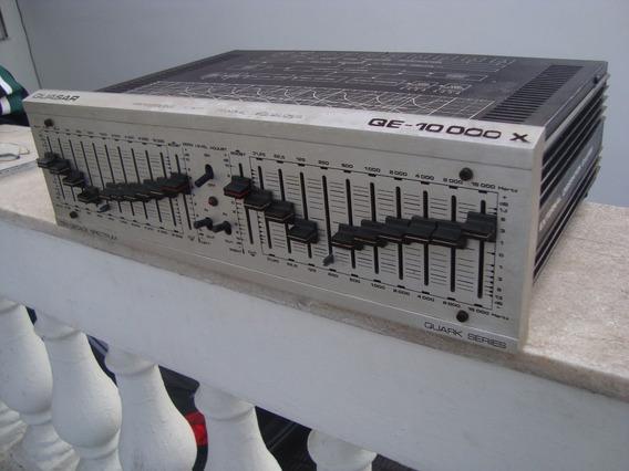 Equalizador Quasar Qe 10000x Raro! Todo Original. Leia!