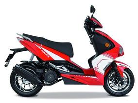 Motoneta Italika Modena 150 Rojo Con Blanco Nueva