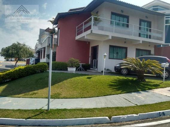 Casa Com 4 Dormitórios À Venda, 290 M² Por R$ 800.000,00 - Condomínio Vila Azul - Sorocaba/sp - Ca0349