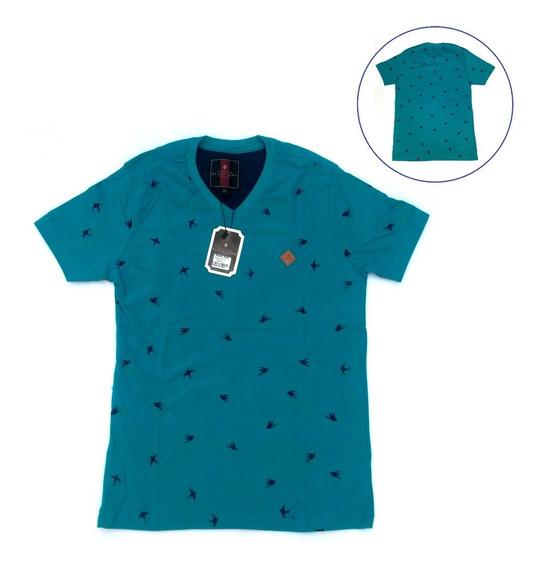 Blusa Masculina G Azul Petróleo Não Solta Tinta Tecido Macio