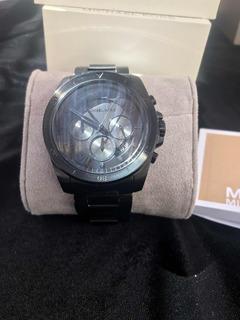 Reloj Michael Kors Importado Cristal De Safiro Y Titanio