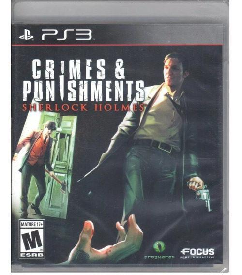 Crimes & Punishments Ps3 Original Mídia Física Lacrado