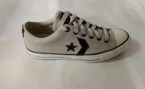 All Star Converse Gelo/marrom