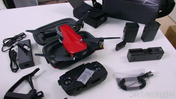 Drone Mavic Air Fly More Combo, Vermelho, Dji