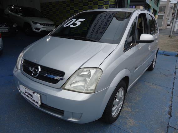 Chevrolet Meriva Maxx 2005 1.8 Flex Power Prata
