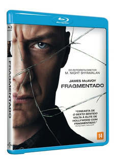 Blu-ray Fragmentado ( Split) James Mcavoy Original Lacrado