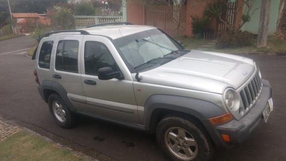 Jeep Cherokee - 3.7 - Gasolina - 2005 - 6v - Blindado