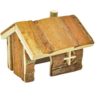 Niteangel Log Cabin Para Hámsters, Jerbos, Ratones Y Otros A