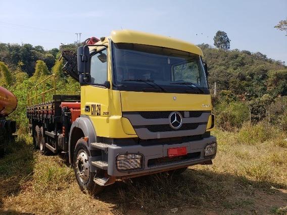 Mercedes-bens Axor 3131 6x4 Ano 2014/2014 Munck Madal
