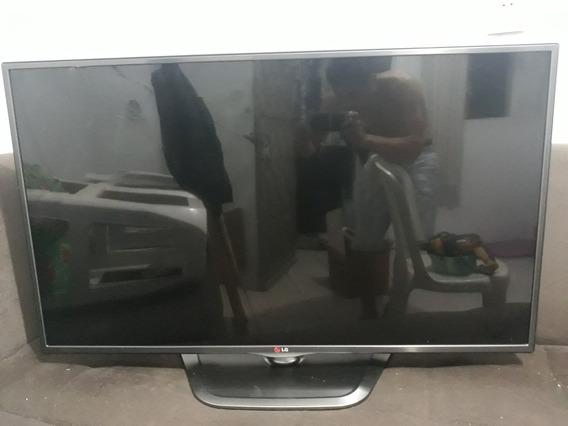 Smart Tv Lg 3d Cinema 42 - Tela Trincada