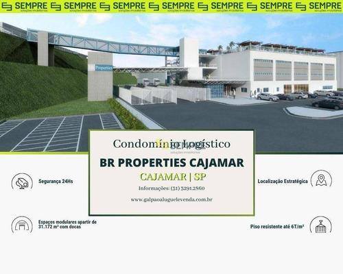 Imagem 1 de 11 de Galpão Para Alugar Em Cajamar Sp - Ga0892