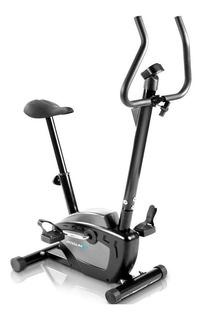 Bicicleta ergométrica Vertical PodiumFit V50 preta e cinza