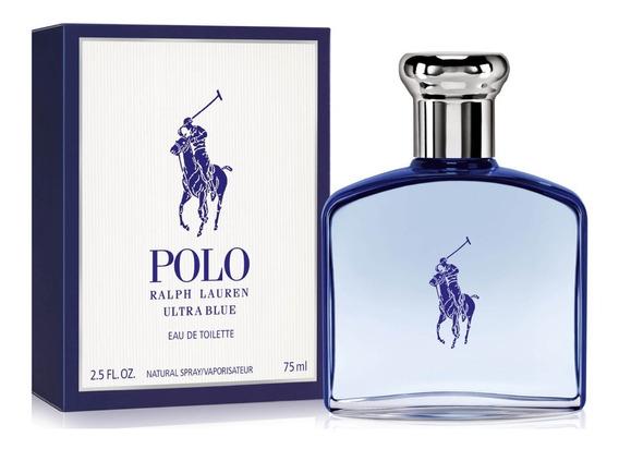 Perfume Masculino Polo Ultra Blue Ralph Lauren Edt 75ml