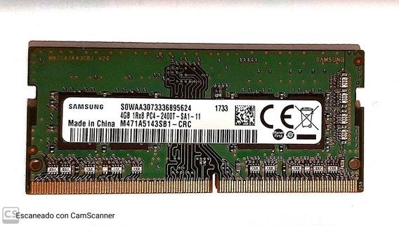 Memoria Ddr4 Samsung 4 Gb