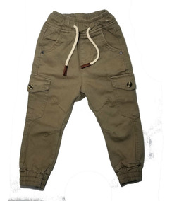 Pantalon De Niño Tipo Jogers Resorte Ajustable Tallas 2 A 14