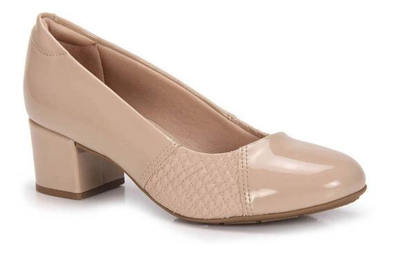 Sapato Salto Conforto Modare Bico Redondo