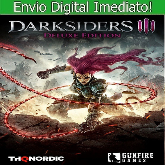 Darksiders Iii Pc Hd Envio Imediato!