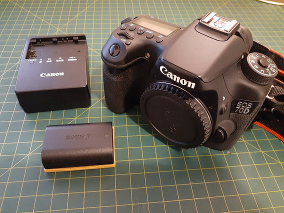 Canon 70d (16.000 Cliques)
