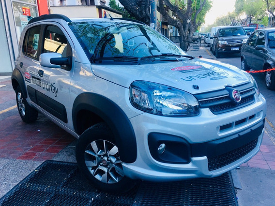 Fiat Uno Way ¡financiado! Solo Dni ¡promo Uber! 2019 0km *