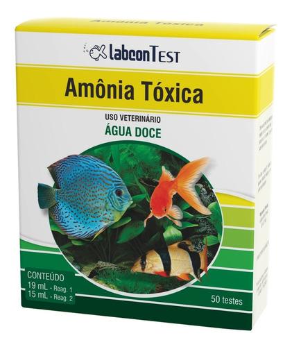Imagem 1 de 1 de Teste Labcon Amonia Toxica Agua Doce (50 Testes) Alcon