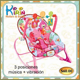 Kirin Silla Mecedora Con Musica Y Vibración 3 Posiciones