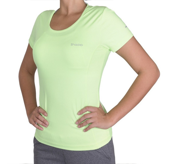 Remera Deportiva Lineas Reflectivas Mujer 209 Air Shade