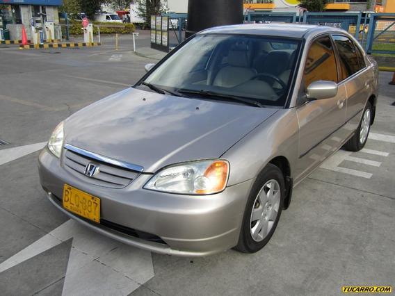 Honda Civic Lx 1.7cc 2002 Automatico