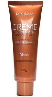 Crema Revitalizante Ice Bronze Cuello - Ruby Rose Hb422