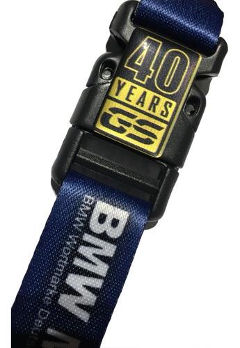 Imagem 1 de 10 de Chaveiro Moto Bmw Motorrad 40th Years Gs Comemorativo Bmw