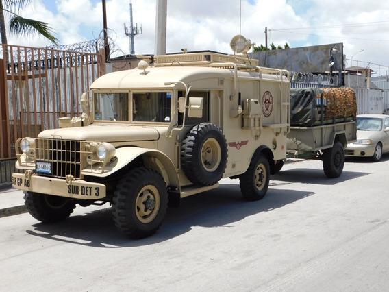 Dodge M43 Ambulancia Militar 1954 Con Remolque