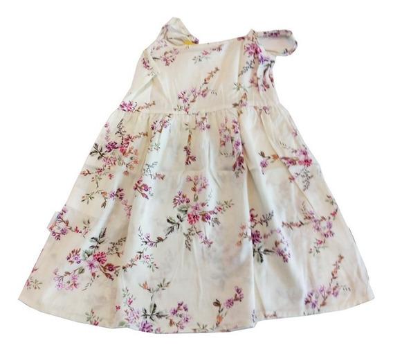 Vestido Niñas Marca Pampero Modelo Flor