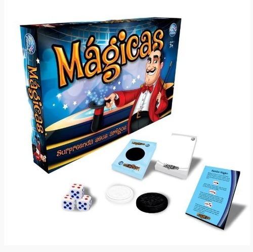 Imagem 1 de 5 de Truque De Mágicas Jogo De Tabuleiro Dicas De Mágicas