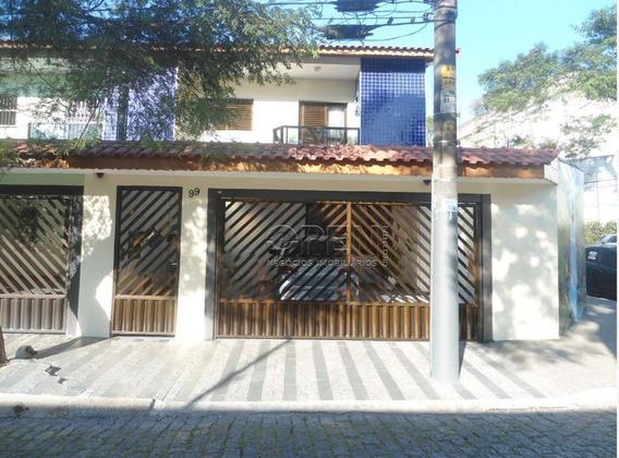 Sobrado Residencial À Venda, Casa Branca, Santo André. - So1368