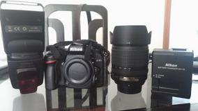 Nikon D7100 + 18-105mm + Flash Yongnuo + Rebatedor