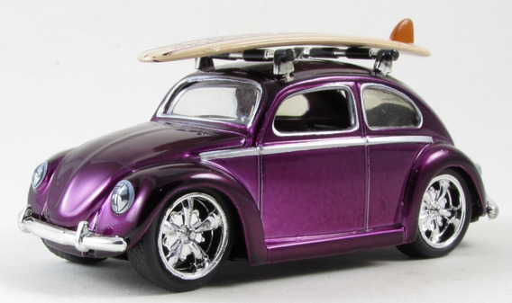 G5 Miniatura Fusca 1959 Volkswagen Beetle Jada V-dub$ V-dubs