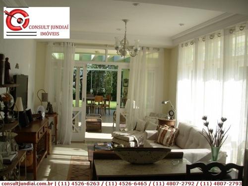 Imagem 1 de 10 de Casas Em Condomínio À Venda  Em Jundiaí/sp - Compre O Seu Casas Em Condomínio Aqui! - 1184256