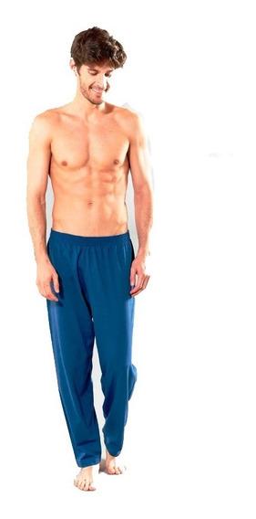 Pantalón Pijama Largo Liso Puro Algodón Talles S/l Primus