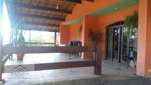 Chácara Com 3 Dormitórios À Venda, 3000 M² Por R$ 500.000,00 - São Domingos - Arujá/sp - Ch0012