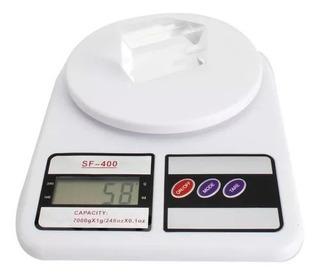 Balanza Gramera Báscula Cocina Digital Capacidad Hasta 10kg