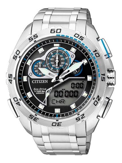 Relógio Citizen Eco Drive Cronógrafo Tz10119f / Jw0120-54e