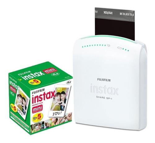 Imagen 1 de 5 de Fujifilm Instax Share Sp-1 Impresora 5 Pack Papel Impresión