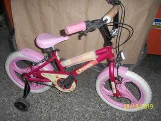 Bicicleta Rodado 16 Para Niña