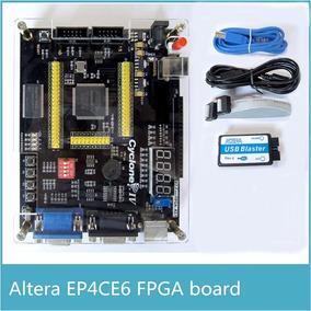 Kit De Desenvolvimento Fpga Cyclone Iv Altera + Usb Blaster