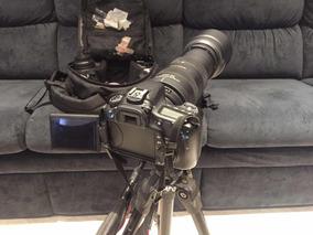 Kit Canon + Lentes Com Mochila Para Transporte