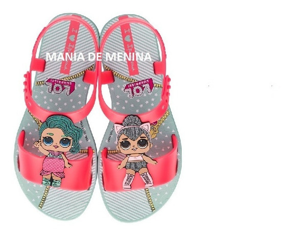 Sandália Infantil Ipanema Lol 26348 - Grendene Kids