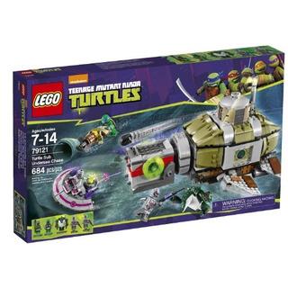 Lego Ninja Turtles 79121 Turtle Sub Undersea Chase Building