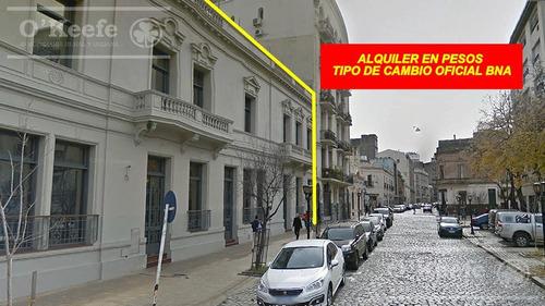 Oficinas Comerciales En Alquiler En Pesos Al Oficial - 1006 M2 En Monserrat - Caba